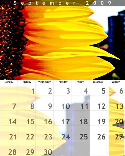 September 2009 Calendar