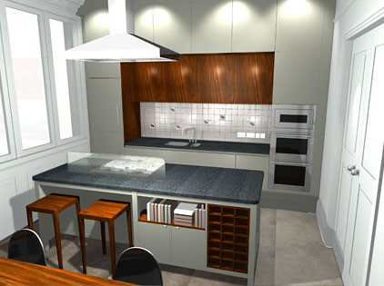 Kitchen Design - Georgian Town House Cheltenham
