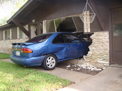 Car Meets House (aka South Austin Parking Spot)