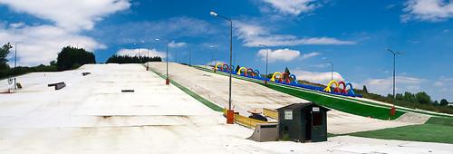 Rotterdam skiing slope