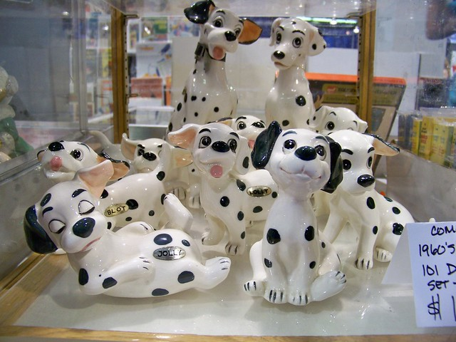 101 Dalmatians Porcelain figures at the D23 Expo