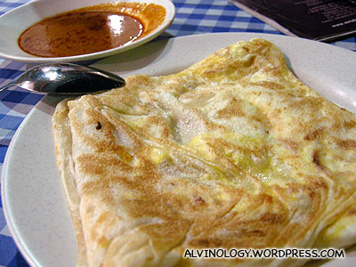 Egg onion prata