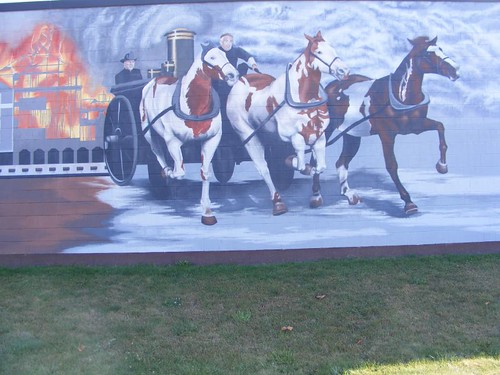 Early Firefighting Mural