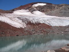 Water of Lewis Glacier Photo