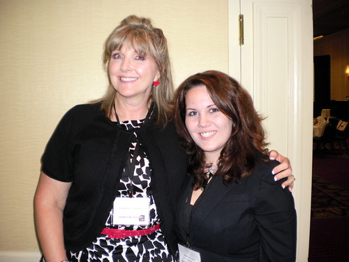 Kimberly Haney and I - one of my favorite women!