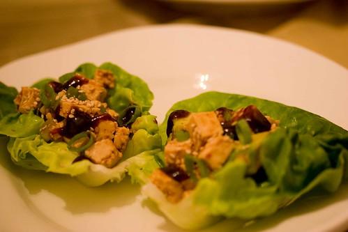 lettuce wraps with hoisin