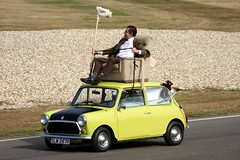 Mr Bean's Mini 1000 (ComfortablyNumb...) Tags: classic cars car mini historic 09 british rowan 2009 1000 motorracing goodwood motorsport leyland revival mrbean bl atkinson mini1000 1car mcar