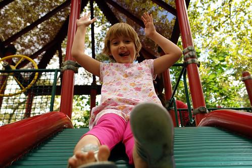 roller slide partay