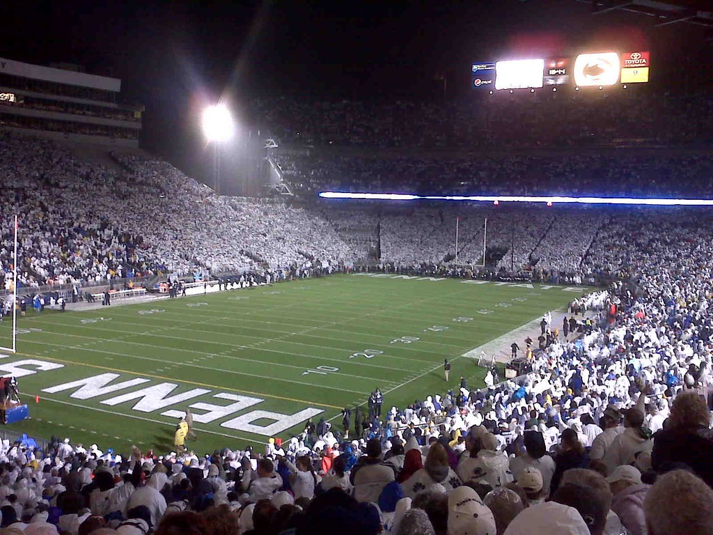 "Beaver Stadium, ""the Whitehouse"""