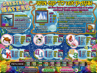 free Crystal Waters slot mini symbol