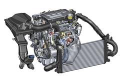 1.4 Turbo mit Ladeluftkühler für den neuen Opel Astra