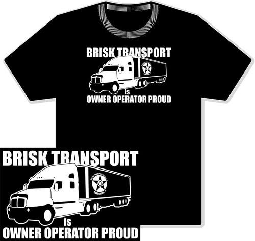 Brisk TransportationT-Shirt Front