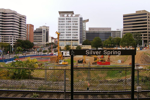 Silver Spring Transit Center (From Metro Platform)