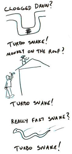 366 Cartoons - 250 - Turbo Snake