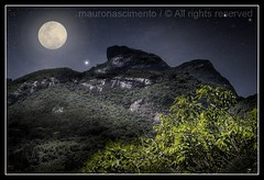 "Gavea / I had a dream .. then let me kiss you ""moonlight"" (mauronascimento) Tags: brazil moon southamerica stone brasil riodejaneiro night photoshop nikon dream pacificocean fantasy soul moonlight nikkor soe hdr gavea fellings abigfave flickrdiamond platinumheartaward theperfectphotographer goldstaraward mauronascimento"
