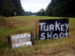 Turkey Shoot (Brian Brown Photography/Vanishing Media) Tags: signs sign rural photo image country picture southern cardboard photograph gathering redneck prizes folklife plywood firearms bestshot turkeyshoot targetshooting folkculture silverspraypaint folkways countryfolks scrapmaterials vanishingsouthgeorgia copyrightbrianbrown