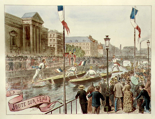 011- Las regatas-Lille ancien monumental Edouard Boldoduc  1893