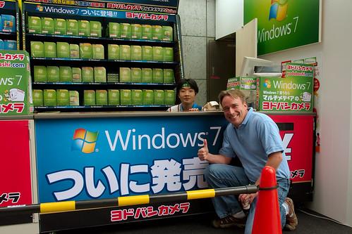 Linus Torvalds y Windows 7