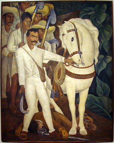 Agrarian Leader Zapata, Diego Rivera. Photo by: IslesPunkFan
