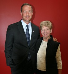 Govenor O'Malley and Senator Peters' Mom