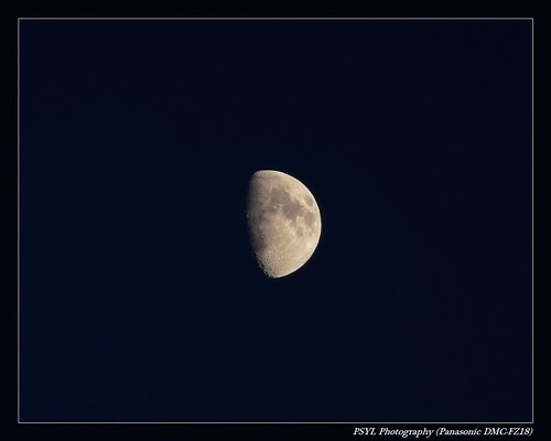 Moon watching on 2009-10-27