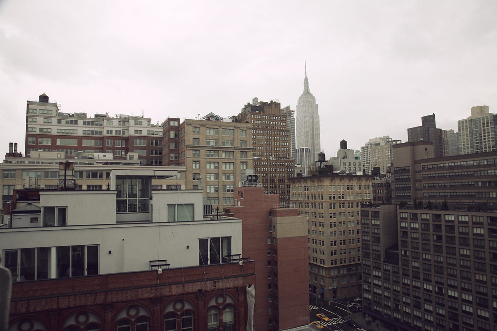 NY View from Apartment Window