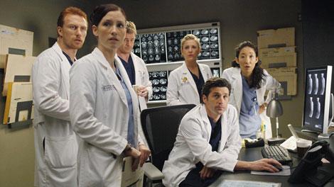Grey's Anatomy Cristina Derek Hunt Callie Arizona Lexie Sloan