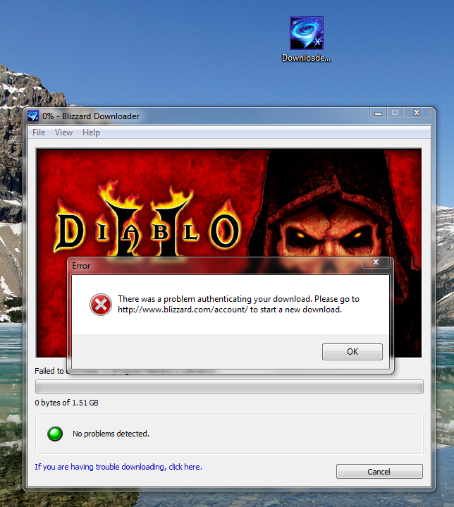 Diablo 2 download problem     | NotebookReview