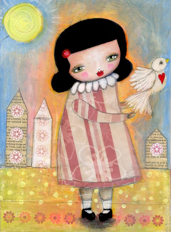 fly free little birdie