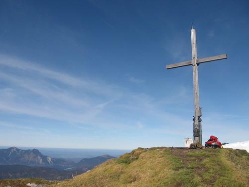 Gipfelkreuz Schafreuther