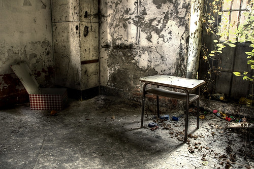 Abandoned barracks #8 - This is where I learn how to be a Man.