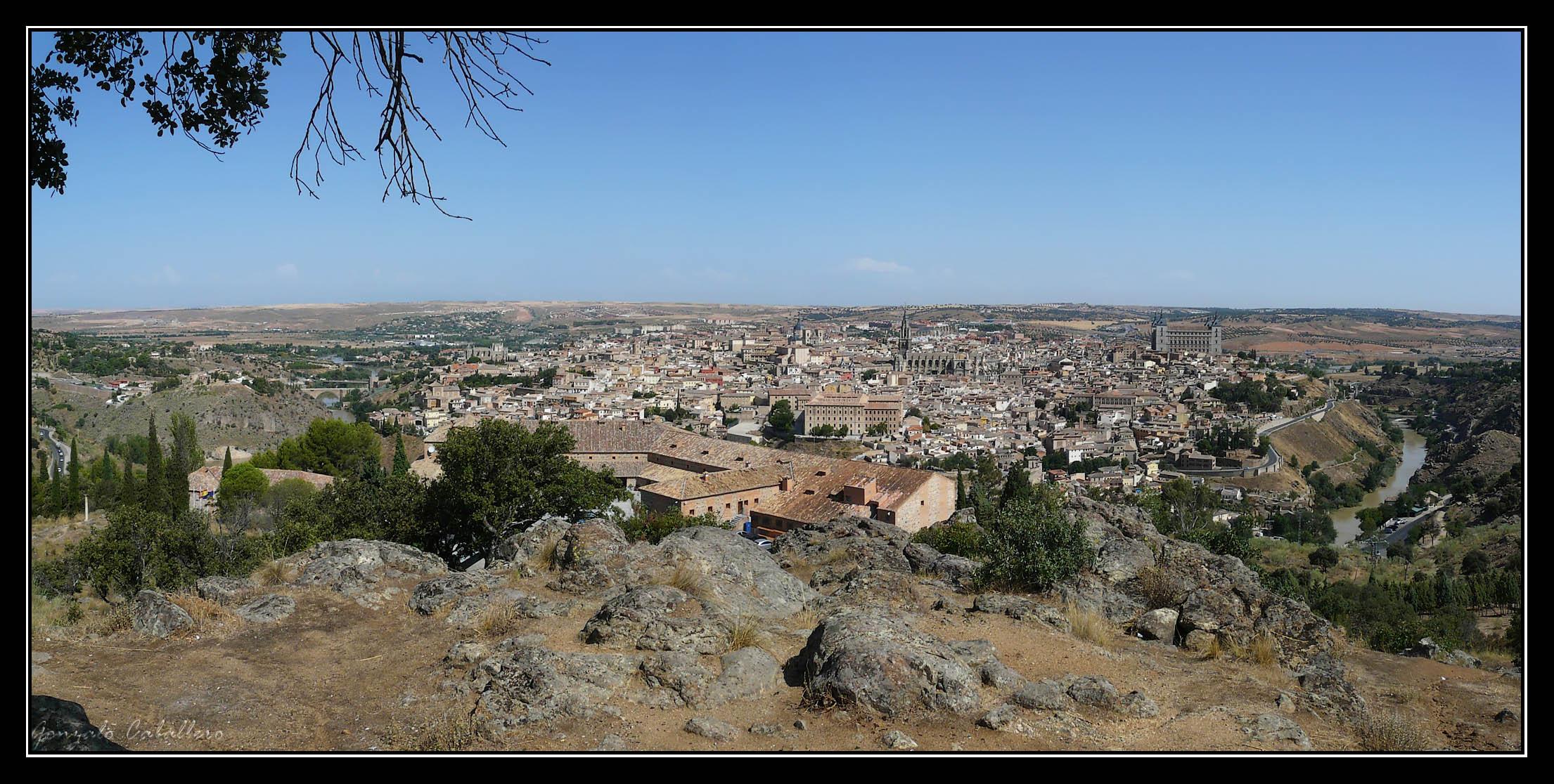Toledo desde el cerro que hay sobre el Parador