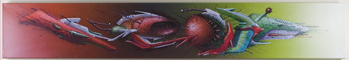 SEAK on canvas/leinwand/toile  2009