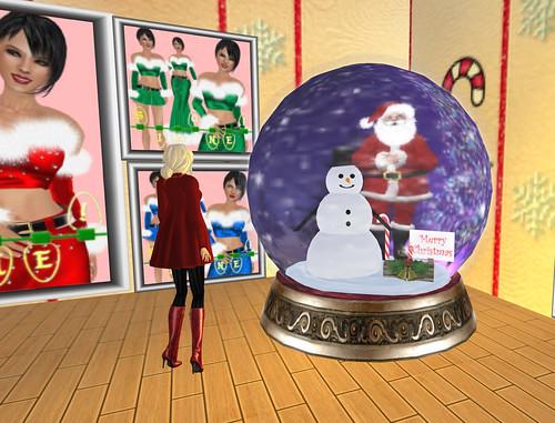 Merry Christmas sim - Snowglobe