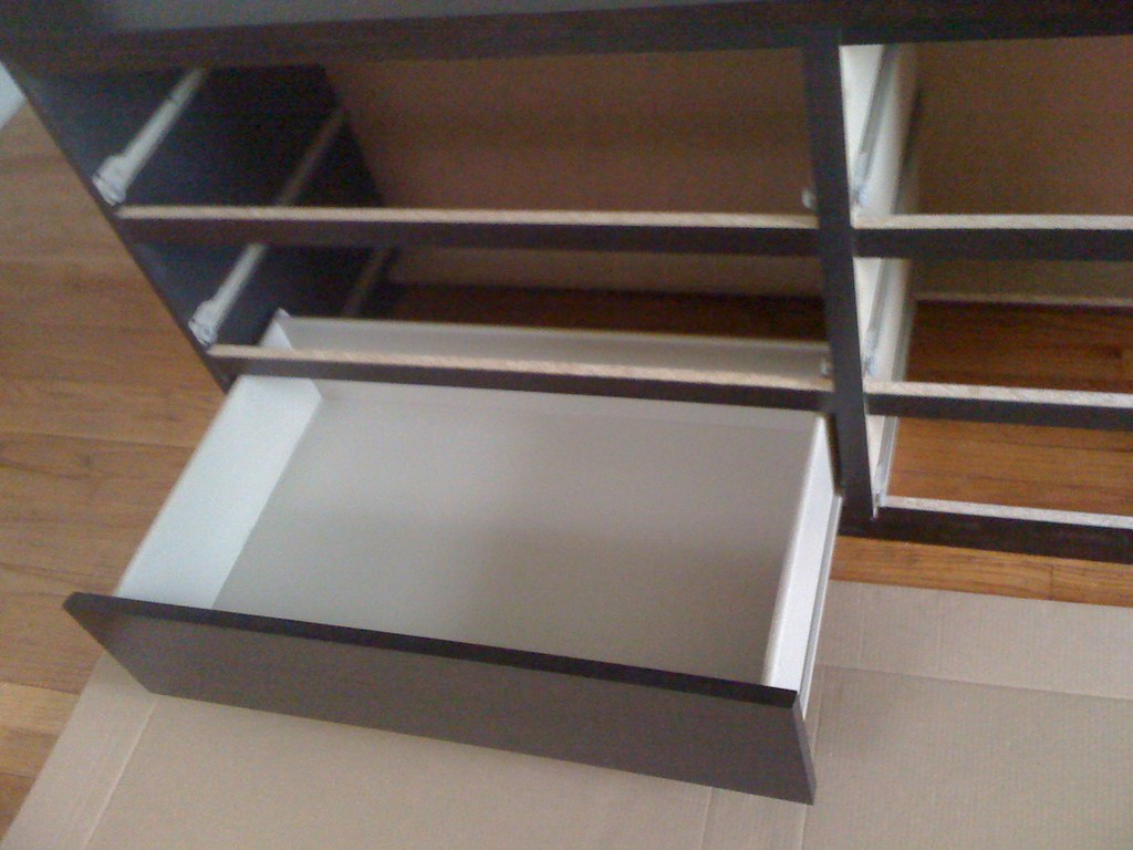 IKEA Malm 6 Drawer   Drawer Insertion (Furniture Assembly Service) Tags: 6  Ikea