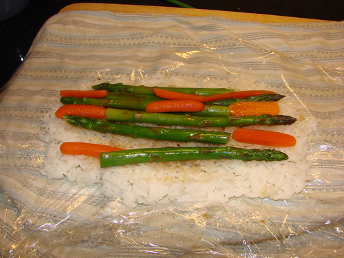 asparagus and carrot