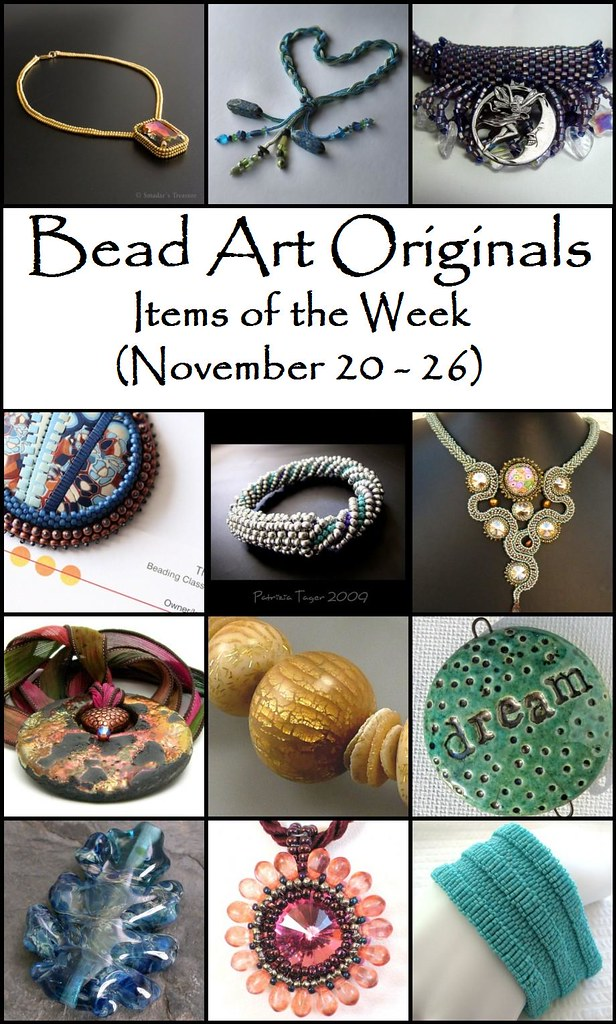 Bead Art Originals Items of the Week (11/20-11/26)