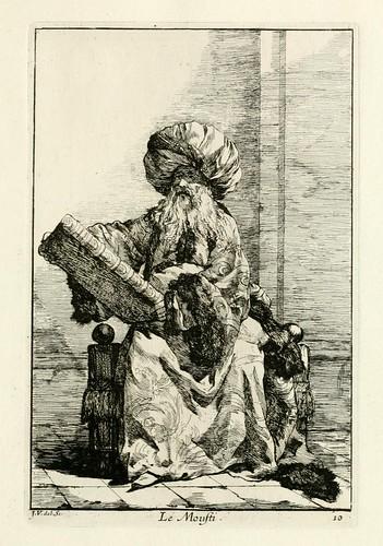 009-Caravanne du sultan ala Mecque…1748- Joseph Vien-El Moufti