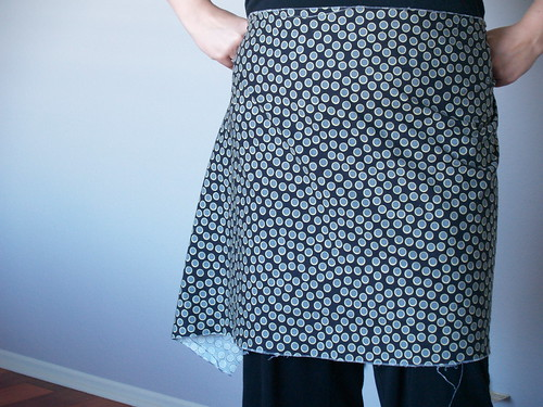 Apron tutorial step 2