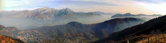 panorama dal Monte San Primo (deeeeeeeep) Tags: italy panorama mountain como nature landscape lago italia stitch hiking background mountainbike natura panasonic biking mtb bellagio montagna dmc lagodicomo fz50 hugin triangololariano