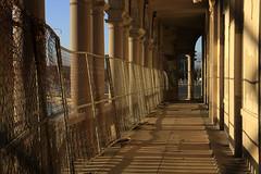 Barricaded (Turukhtan) Tags: abandoned beach buildings seaside newjersey decay empty asburypark casino boardwalk pillars heatingplant