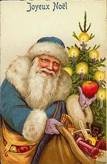 Vintage Christmas/Santa Claus Postcard (Suzee Que) Tags: santa christmas vintage postcard ephemera santaclaus claus