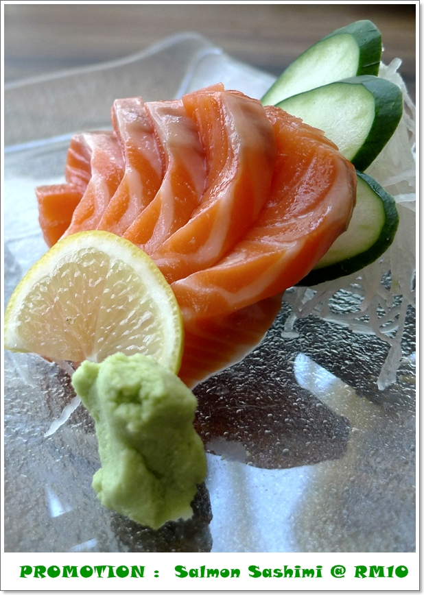 Salmon Sashimi @ Azuma Queensbay Mall