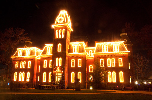 Woodburn Hall lighting