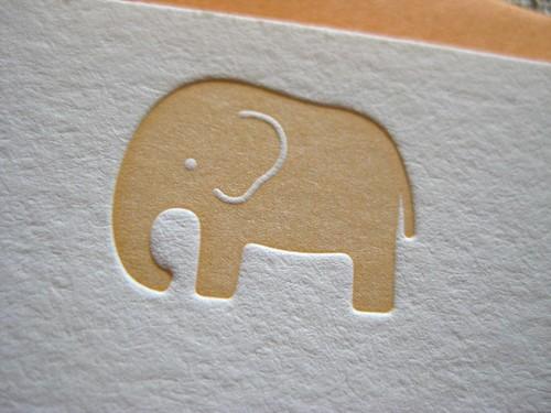 Elephant in mandarin