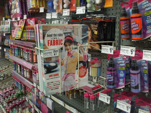 bend the rules with fabric at michaels!