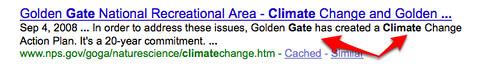 Google & Climategate