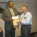 Maryland Alliance President Bruce Dunton with Maryland/D.C. AFL-CIO President Fred Mason