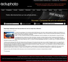 Publication ActuPhoto, Novembre 2009