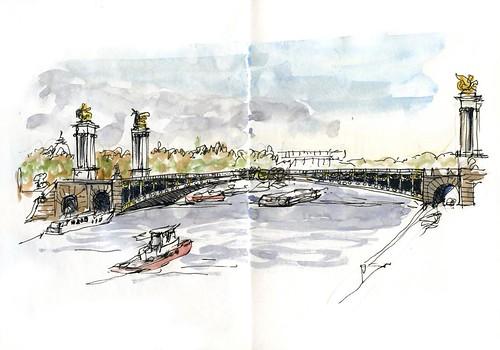 Paris03_07 Alexander Bridge 01